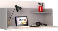 Письменный стол Polini Kids Mirum 0002238.55 (белый/серый) -