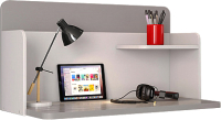 Письменный стол Polini Kids Mirum 0002238.51 (серый/белый) -