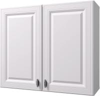 Шкаф навесной для кухни Горизонт Мебель Ева 80 (белый софт) -