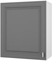 Шкаф навесной для кухни Горизонт Мебель Ева 60 (графит софт) -