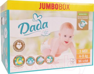 Подгузники детские Dada Extra Soft Midi 3 Jumbo Box (96шт)