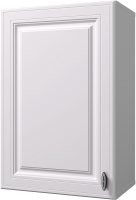 Шкаф навесной для кухни Горизонт Мебель Ева 45 (белый софт) -