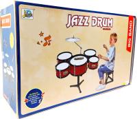 Музыкальная игрушка Sea & Sun Детская барабанная установка Jazz Drum / SS202162/6623 -