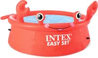 Надувной бассейн Intex Easy Set Веселый краб / 26100NP (183x51) -