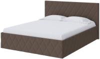 Двуспальная кровать Proson Fresco Savana Chocolate 200x200 (шоколад) -