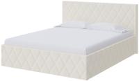 Двуспальная кровать Proson Fresco Savana Milk 200x200 (молочный) -