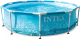Каркасный бассейн Intex Metal Frame Beachside / 28208 (305х76) (c фильтром и насосом) -