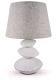 Прикроватная лампа Лючия Стоун-арт 446 (белый) -