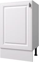 Шкаф под мойку Горизонт Мебель Ева 50 (белый софт) -
