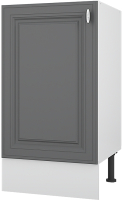Шкаф под мойку Горизонт Мебель Ева 50 (графит софт) -