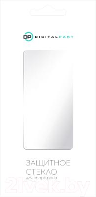 Защитное стекло для телефона Digitalpart Gold Full Glue для Redmi Note 8 (черный)