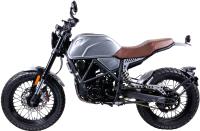 Мотоцикл M1NSK SCR250 (серебристый) -