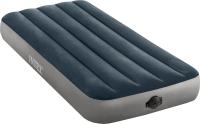 Надувной матрас Intex Dura Beam Single Hight 64781 (99x191x25, встроенный насос) -