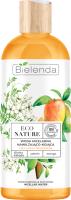 Мицеллярная вода Bielenda Eco Nature какаду слива+жасмин+манго увлажняющая и успокаивающая (500мл) -