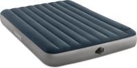 Надувной матрас Intex Dura Beam Single Hight 64783 (152х203х25, встроенный насос) -