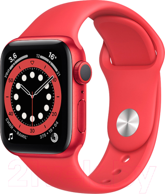 Фото - Умные часы Apple Watch Series 6 GPS 44mm / M00M3 смарт часы apple watch series 6 40 мм gold mg123ru a
