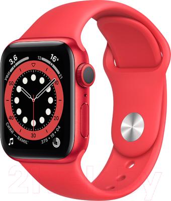 Фото - Умные часы Apple Watch Series 6 GPS 40mm / M00A3 смарт часы apple watch series 6 40 мм gold mg123ru a