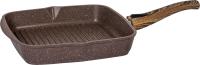 Сковорода-гриль Мечта Гранит M068806 (коричневый) -