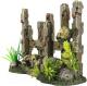 Декорация для аквариума Aqua Della Ограда с черепом / 234/448953 (коричневый) -