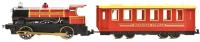 Поезд игрушечный Технопарк Поезд с вагоном. Красная стрела / CT10-038 (24) -