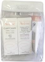 Набор косметики для лица Avene Avene Колд-крем+Крем Ксеракальм липид DEFI+Мол Трикзера Нутришн (5мл+5мл+10мл) -