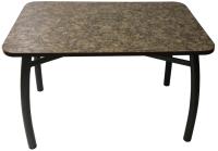 Обеденный стол Solt 120x80 (умбрия/ноги усиленные шелби-дуо черные) -