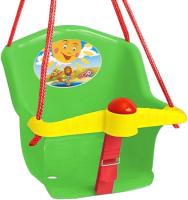 Качели Orion Toys Бонифаций с барьером безопасности / Т1790 (зеленый) -