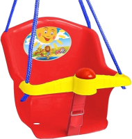 Качели Orion Toys Бонифаций с барьером безопасности / Т1790 (красный) -