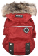 Куртка для животных Puppia Brock с капюшоном / PAUD-JM1851-RD-M (красный) -