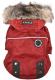 Куртка для животных Puppia Brock с капюшоном / PAUD-JM1851-RD-S (красный) -