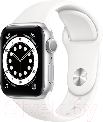 Фото - Умные часы Apple Watch Series 6 GPS 40mm / MG283 смарт часы apple watch series 6 40 мм gold mg123ru a