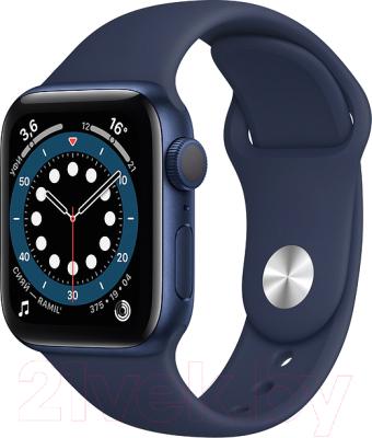 Фото - Умные часы Apple Watch Series 6 GPS 40mm / MG143 смарт часы apple watch series 6 40 мм gold mg123ru a