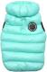 Жилетка для животных Puppia Ultra Light Vest B / PAPD-JM1671-SB-M (бирюзовый) -