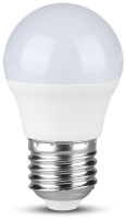 Лампа V-TAC 5.5 ВТ 470LM G45 Е27 2700К SKU-7407 -