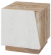 Прикроватная тумба Мебель-КМК Лайт 1Д 0551.10 (дуб юккон/дуб полярный) -