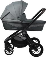 Детская универсальная коляска Farfello Baby Shell BBS 2 в 1 / BBS-11 (стальной серый) -