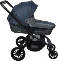 Детская универсальная коляска Farfello Baby Shell BBS 2 в 1 / BBS-12 (синий) -