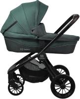 Детская универсальная коляска Farfello Baby Shell BBS 2 в 1 / BBS-13 (изумрудный) -