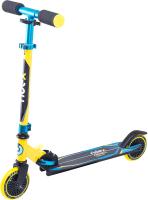 Самокат Ridex Rebel 125мм (желтый/голубой) -
