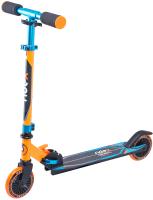 Самокат Ridex Rebel 125мм (оранжевый/голубой) -