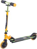 Самокат Ridex Rebel 125мм (оранжевый/зеленый) -