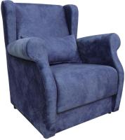 Кресло мягкое Lama мебель Верона (Nevada Navy) -