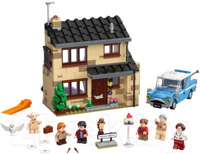 Конструктор Lego Harry Potter Тисовая улица дом 4 / 75968