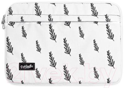 Чехол для ноутбука Vokladki Флора / 54005 (M)