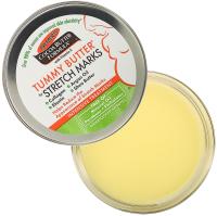 Косметическое масло для мам Palmers Tummy ButterJar твердое масло против растяжек (125мл) -
