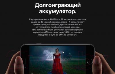Смартфон Apple iPhone SE 64GB / MHGP3 (черный)