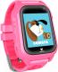 Умные часы детские Wonlex KT10Z/M06 (розовый) -