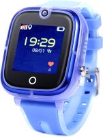 Умные часы детские Wonlex KT07 (голубой) -