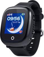 Умные часы детские Wonlex WiFi Dual Сamera GW400X (черный) -