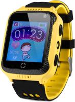 Умные часы детские Wonlex GW500S (желтый) -